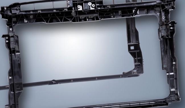 Nuovi supporti frontali auto senza uso di metallo