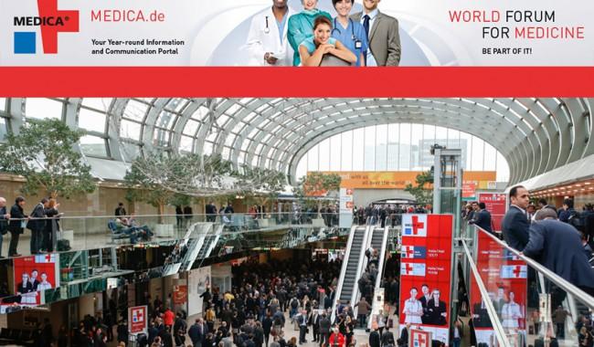 (Italiano) Medica 2015: dal 16 al 19 novembre a Düsseldorf il forum della medicina