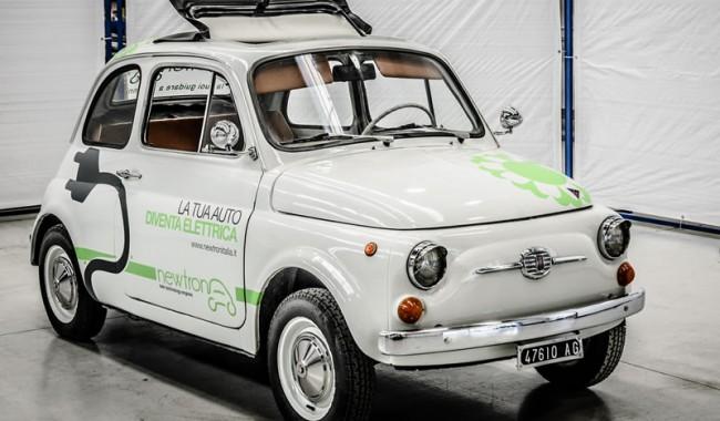 Come trasformare un'auto d'epoca in un moderno veicolo ibrido