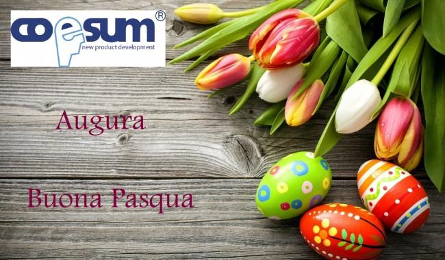 Auguri di Buona Pasqua da Coesum
