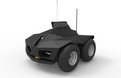 ROBY GUARD – Rover per la Sorveglianza